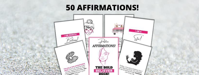 50 Daily Affirmations for Women!